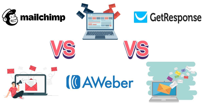 Aweber vs MailChimp vs GetResponse